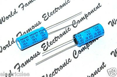 1pcs-Vishay PHILIPS BC 135 470uF 100V 16x40mm Radial Electrolytic Capacitor