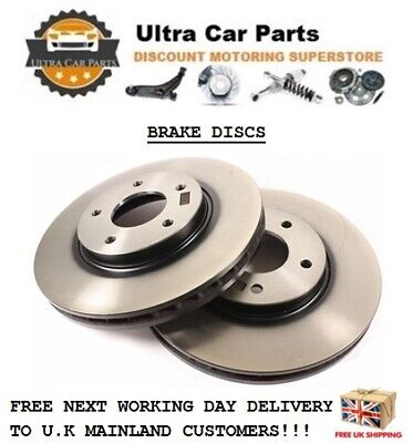 Ford Mondeo MK3 2.0 TDCI Estate 128 Front Brake Pads Discs 300mm Vented