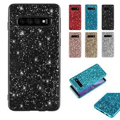 Glitter Sparkle Bling Rubber Case Cover For Samsung Galaxy Note 10 Pro S10+ A50