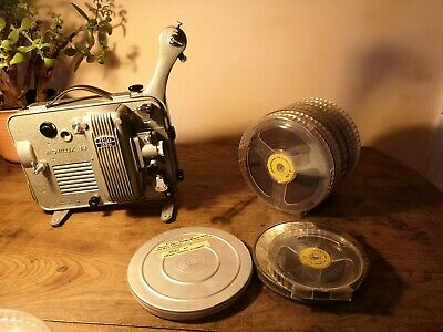 Vintage Zeiss IKON Movilux 8b Film Projector Complete With Hard Case GWO