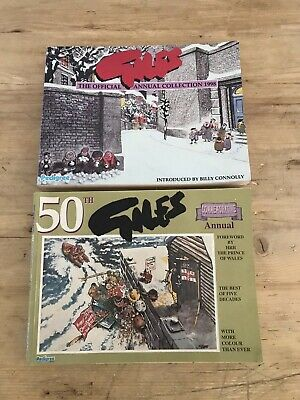 Giles The Official Annual Collection 1998 + 50th Anniversery Annual (1997)