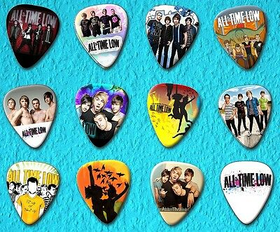 ALL TIME LOW Guitar Picks Set of 12
