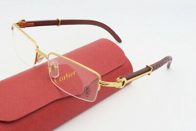 d88427abeb NEW CARTIER RIMLESS Eyeglasses Sunglasses Authentic 100% Brand New ...
