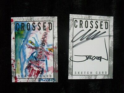 CROSSED Art prints 6 poster Collector (43x28 cm) + carte collector