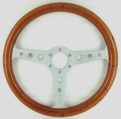 Genuine Momo Indy 350mm wood rim steering wheel. Classic 1985 retro.  7E