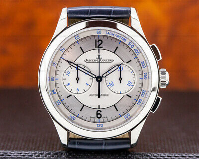 Jaeger LeCoultre Q1538530 Master Chronograph Sector Dial BOX AND PAPERS