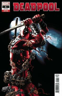Deadpool #1 (Vol 5) 1:25 Variant Cover by Cover by Mike Deodato
