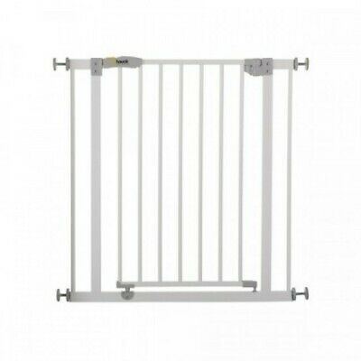 Hauck Open N Stop Safety Gate + 9cm Extension - White