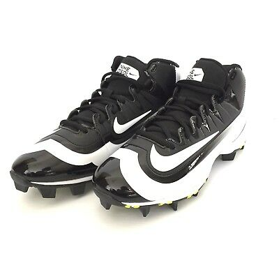 4047d87975cc8 Nike Huarache 2k Filth Mid Keystone Men s 7 Baseball Shoes Rubber Cleats  Black