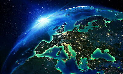 207128 Earth from space Decor Wall PRINT UK