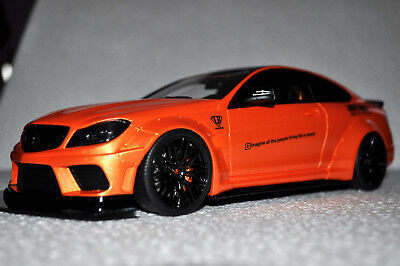 Mercedes C63 LB Works 2017 Metallic Orange 1/18 - GT215 GT SPIRIT SOLD OUT