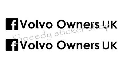 Volvo Owners UK facebook group stickers Volvo Owners Facebook group x 1 sticker