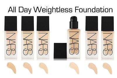 NARS 🔥All day Luminous Weightless Foundation Liquid ALL Shades 30ml BRAND NEW❤️