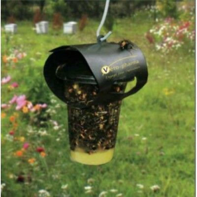 Ten 10 x Asian Hornet Traps with 50 Refils, Pest Control  Beekeeping, Free P&P
