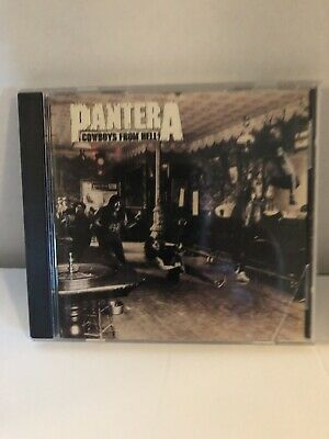 Pantera Cowboys From Hell CD ...Pre Owned.