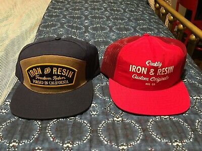 iron and resin hat lot bundle pacifica trooper wax canvas rambler jacket vest