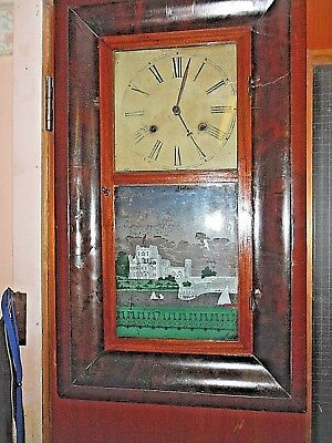 American Wall Clock  - Jerome & Co. Newhaven Conn.