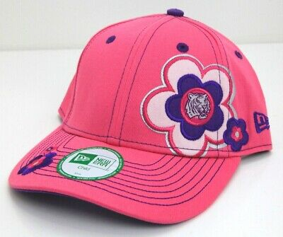 Clemson Tigers College, New Era Baseball Cap Hat Kid's Child, Flowers Pink