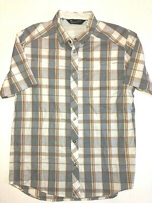 1642e822 NEW UNDER ARMOUR Cascade Chambray Flannel Men's Size Large 1297266 ...