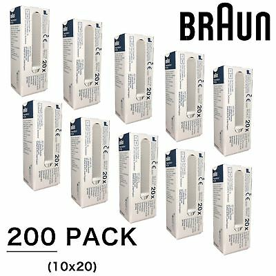 200 Lens Filters Covers for Braun Thermoscan IRT 4520 4020 Ear Thermometer PC200