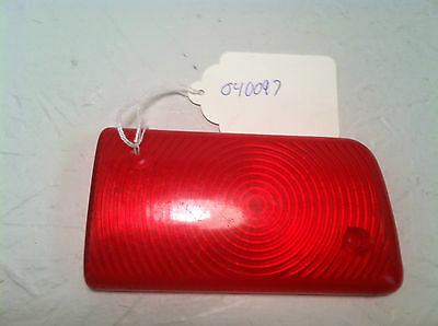 Vintage Snowmobile Taillight Lens Part Number 040097 New Old Stock Part