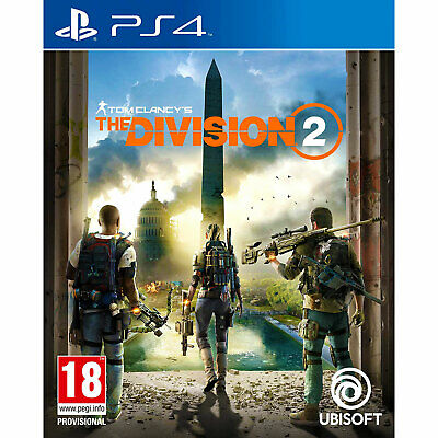 Tom Clancy's The Division 2 (PS4) | Brand New & Sealed | + Fast & Free Delivery!