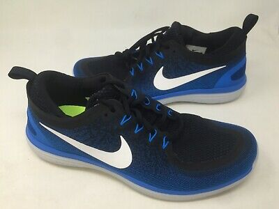 promo code 50f09 786a9 Nike Men s Free RN Distance 2 Athletic Shoes Blue  863775-401 10O4