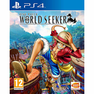 One Piece: World Seeker (PS4) Game | Brand New & Sealed | + Fast Free Delivery !