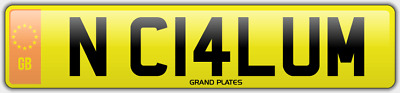 Callum N number plate Callums CHERISHED CAR REG CAL CALS NC14 LUM NO ADDED FEES