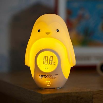 the Gro Company - Percy the Penguin Glowing Gro-Egg Shell, matches Winter Warmer