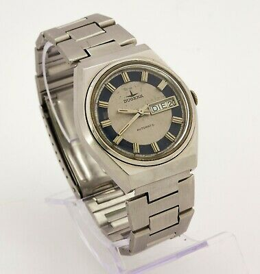 1970's vintage Dugena Swiss made automatic wristwatch Cal. AS 5206, 17 jewels