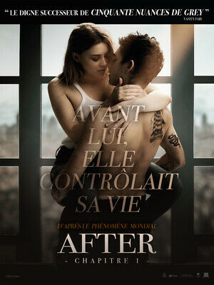 After - chapitre 1 - Affiche cinema 40X60 - 120x160 Movie Poster