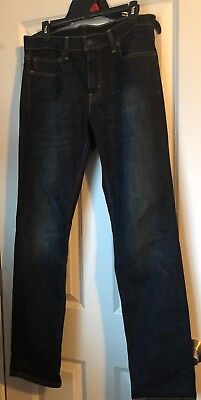 Mens Levis 511 Skinny Dark Wash Denim Jeans 32 x 32