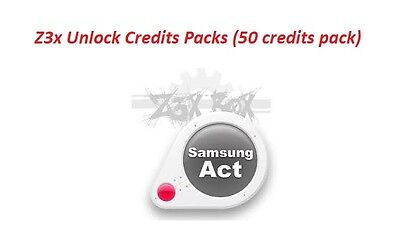 Z3x Credits Pack (50 credits) direct server codes unlock INSTANT Fast delivery