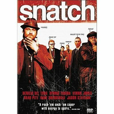 Snatch (Widescreen Edition) DVD Brad Pitt Jason Stratham