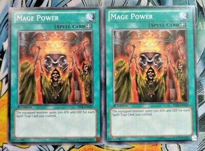 Mage Power YSYR or ldk2 or sddl YUGIOH Ancient Rules Unlimited