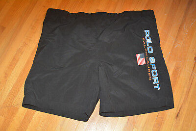 Polo Sport Vintage Shorts XL 90s 1990s Ralph Lauren Spell Out