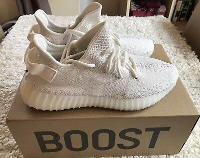 2058b8446 ADIDAS YEEZY BOOST 350 V2 Triple White - UK 6.5