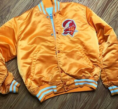 free shipping 83cd9 cc681 RARE VINTAGE TAMPA Bay Buccaneers Starter Pro Line Jacket size Large orange