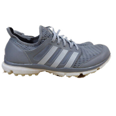 quality design b42a6 448b3 Adidas ClimaCool Men s Spikeless Golf Shoes Grey White US 11 (F33224)