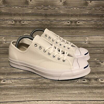 3437e4d40ad Converse Jack Purcell JP Signature Ox Mens Size 9.5 Shoes 156956C White  Natural