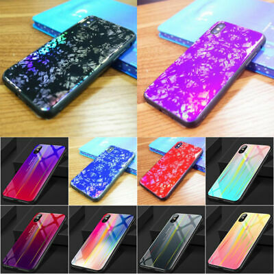 Plus Apple 7 Cover Transparent Case X Silicone Rainbow Shockproof For 8 iPhone