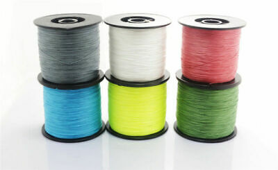 Braided Fishing Line - 4 Strands Super Strong PE Fishing Wire 500M/546 Yards NEW