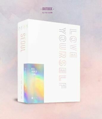 BTS WORLD TOUR LOVE YOURSELF IN SEOUL Blu-Ray Pre order 3DISC+P.Book+Card