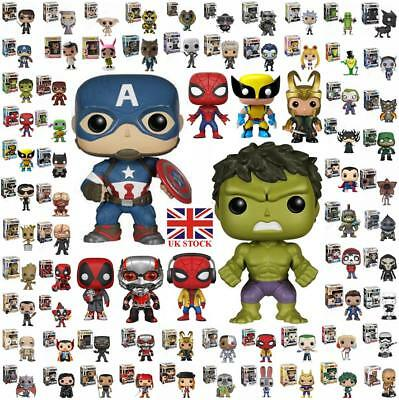 Funko POP Marvel series Movie game characters Vinyl Action Figure Toys