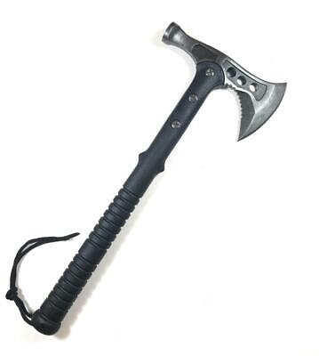 TACTICAL HUNTING AXE Tomahawk Hatchet Camping Knife Survival Blade Free  Shipping