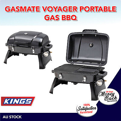 Voyager Portable Gas BBQ Gasmate Burner Stove Cooker Meat Picnic Cooking Camping