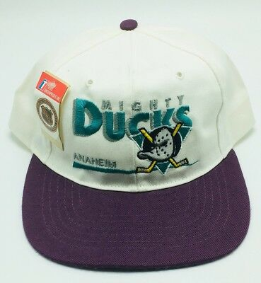 NHL ANAHEIM MIGHTY Ducks Baseball Hat Cap Snapback Vintage -  74.99 ... 1d91726f286d