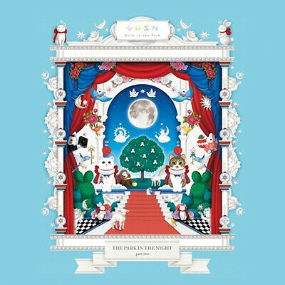 GWSN THE PARK IN THE NIGHT PART TWO Album CD+POSTER+Book+Card+Mark+Pre-Order+etc