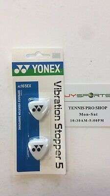 New Yonex AC165EX Clear Vibration Stopper 5 Improved Vibration Dampening